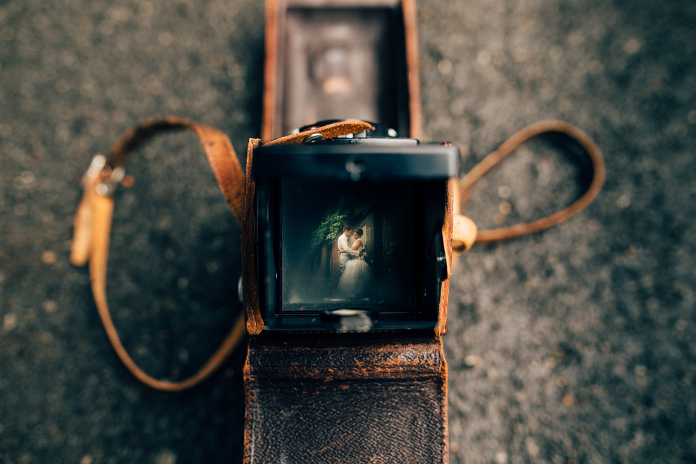 Taken with an old Rolleiflex