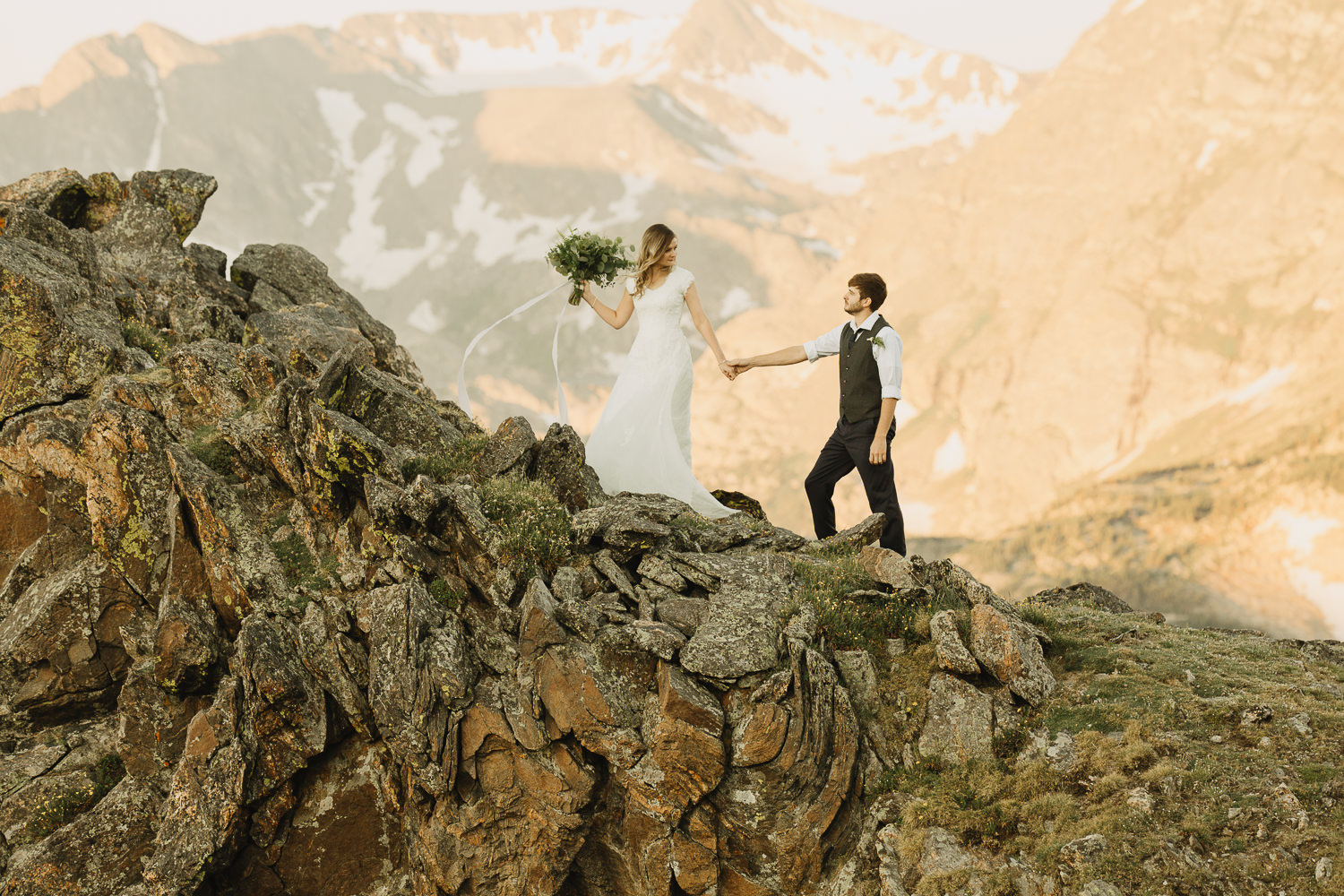 Rocky Mountain Adventure Elopement