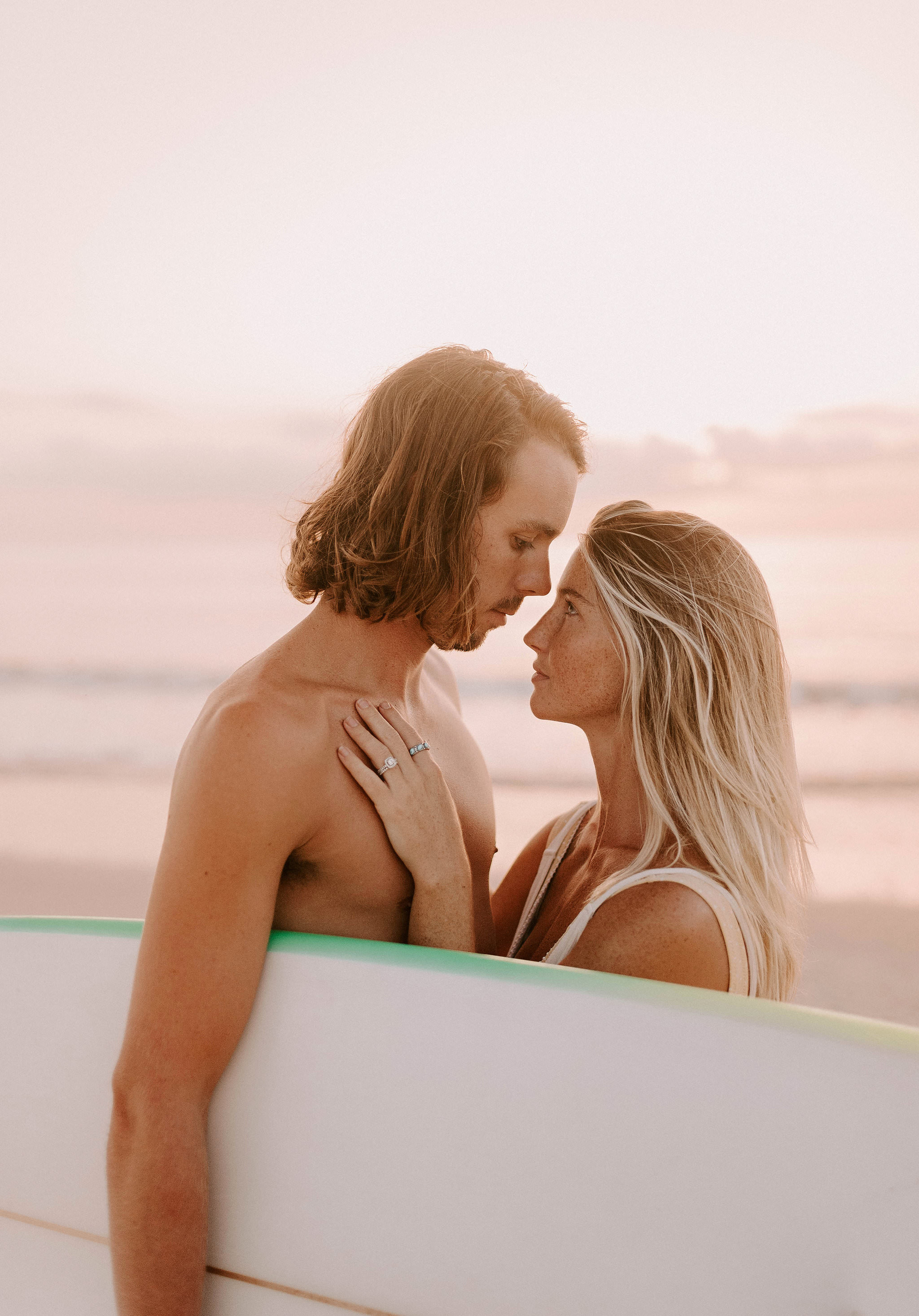 Surf Engagement Session