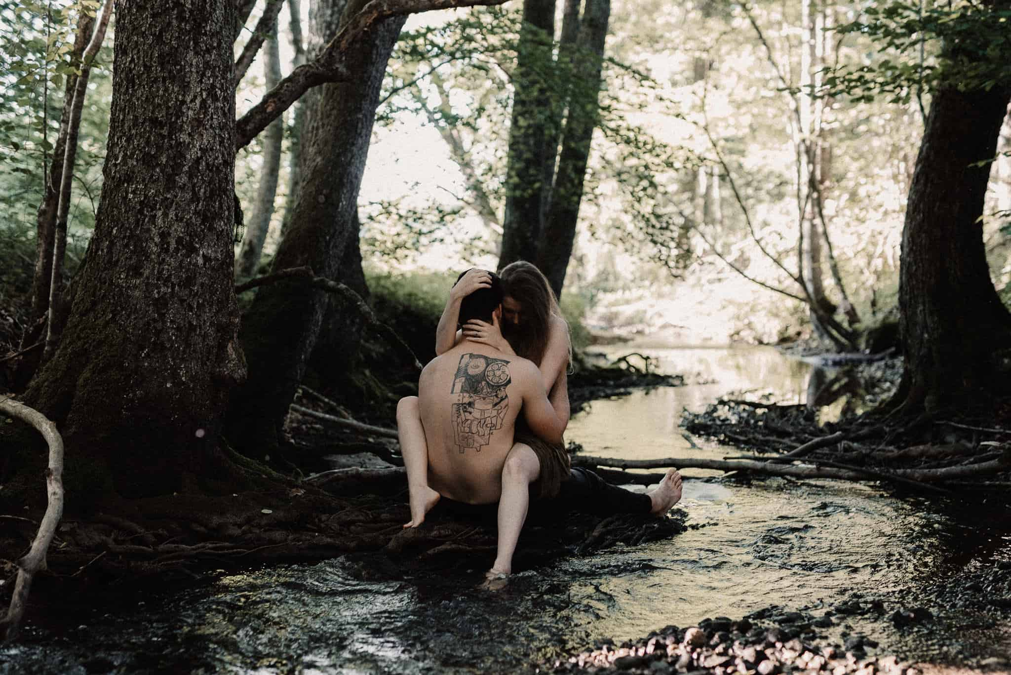Forest Boudoir Session
