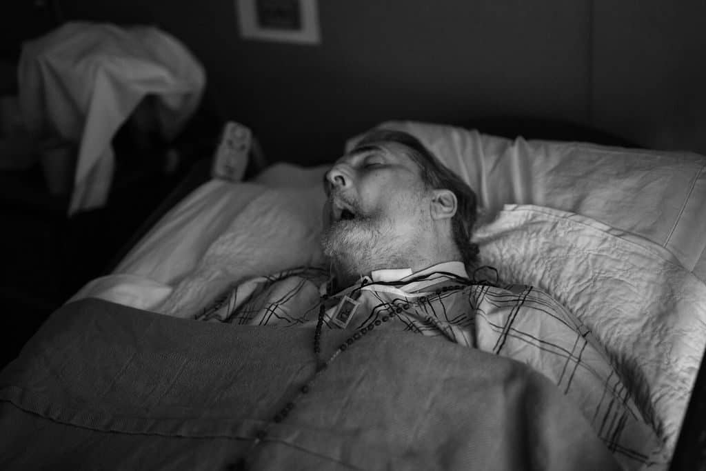 Hospice Photography - The last day in my dad's life