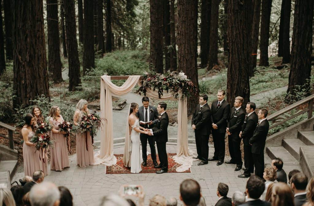 Outdoor Forest Wedding Venue