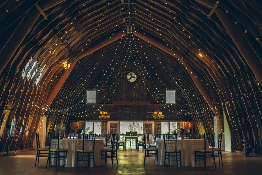 Our 10 Favorite Woodsy Wedding Spots
