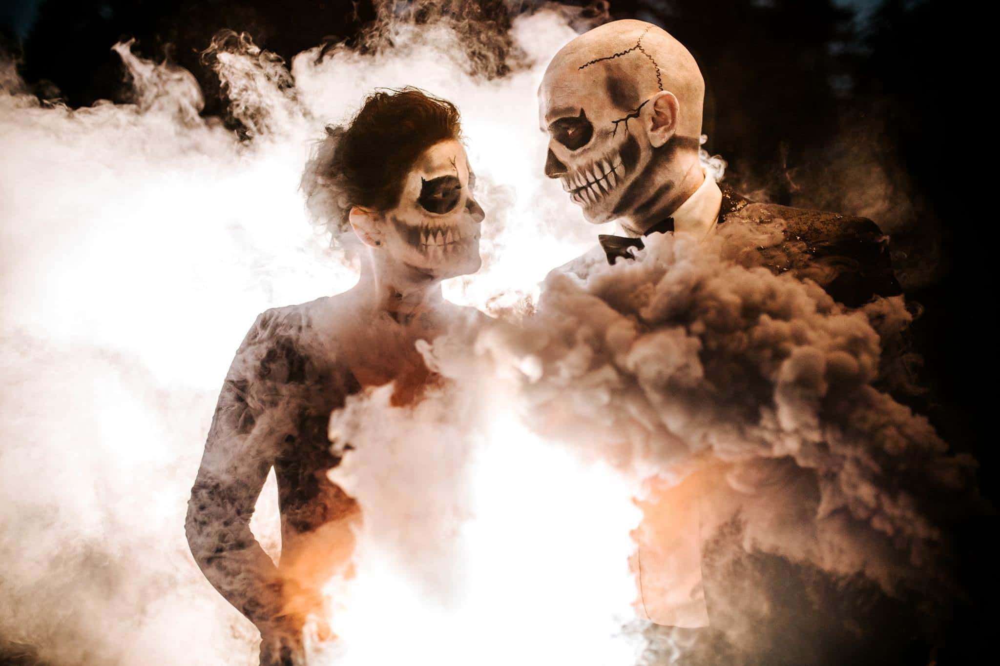 Smoke Grenade Picture at Halloween