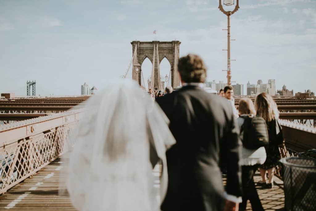A Pretty & Unique Rooftop Wedding in Manhattan