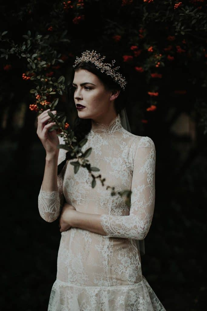 Black Is The New White - 10 Gothic Wedding Dresses That Will Blow You Away