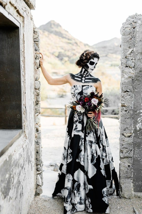 Gothic Wedding Dresses The Top 2019 Trends For Your Black Wedding