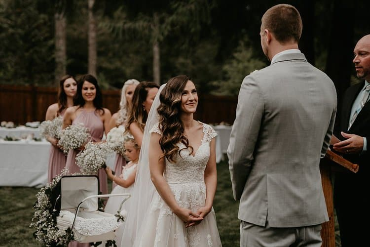 A Magical Backyard Wedding At The Snoqualmie River