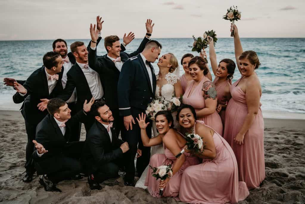 Jupiter Beach Resort Wedding