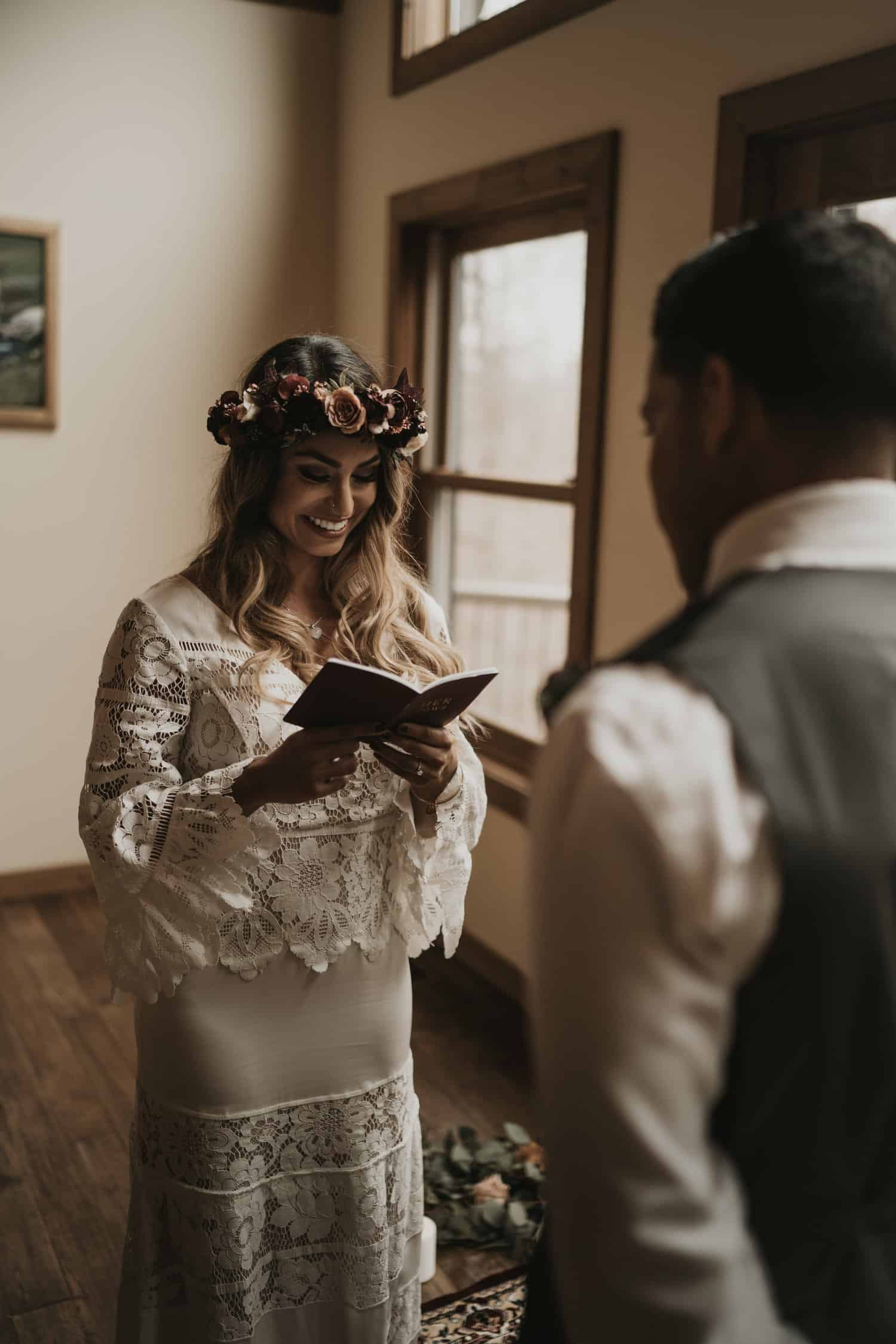 Intimate Tennessee Elopement In The Woods