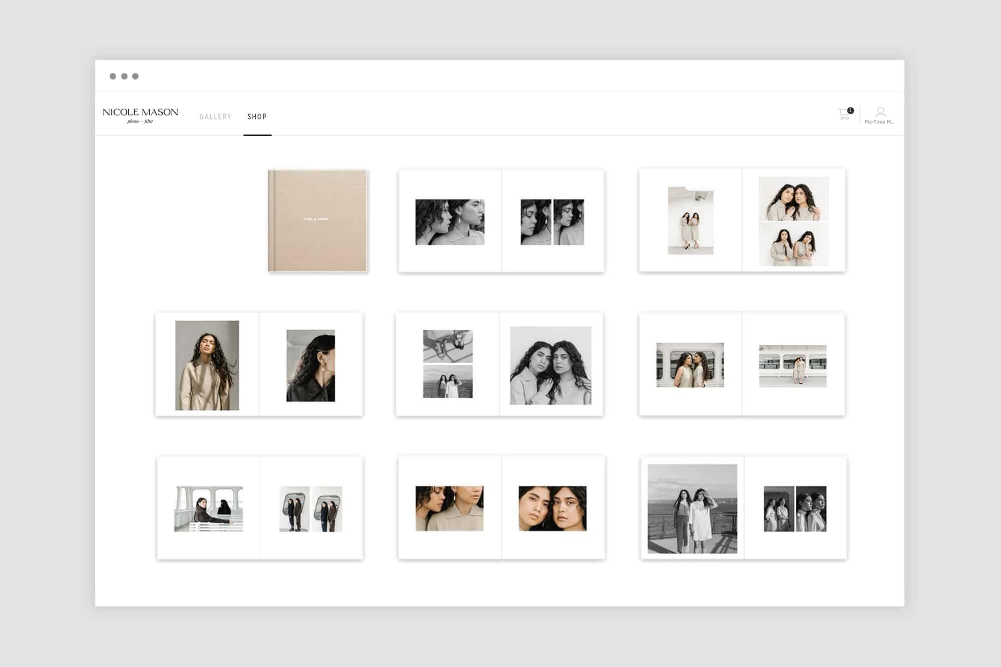 photo albums