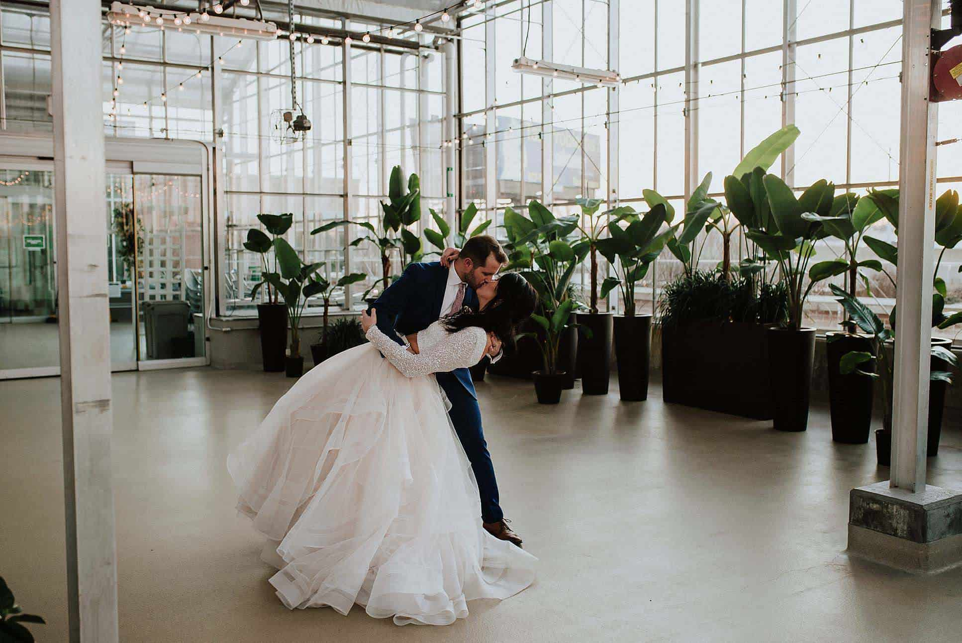 Fabulous Downtown Market Wedding In Grand Rapids