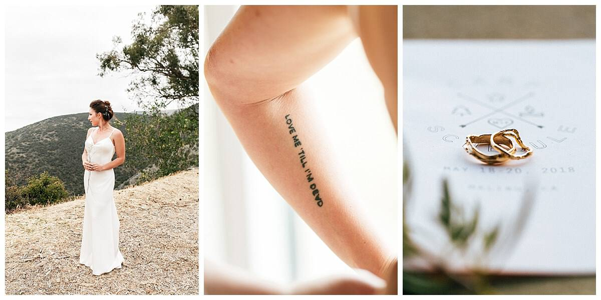 An Intimate And Lovely Wedding At The Cliffside Of Malibu