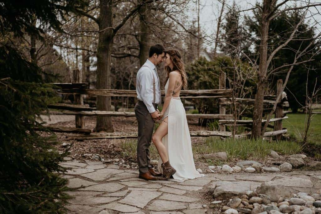 A Woodsy Dream Wedding At The Bellamere Winery