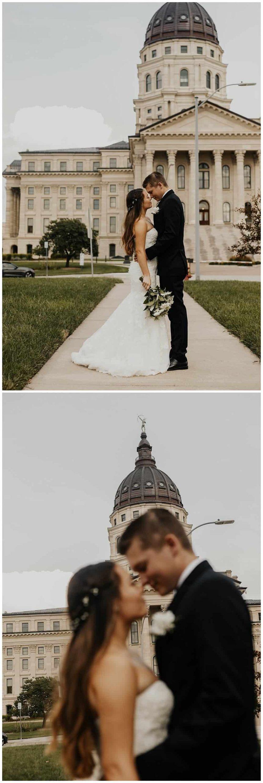 Beautiful Urban Wedding Near Kansas City