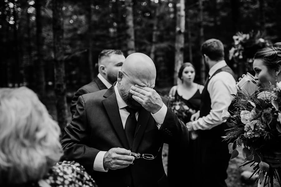 A Beautiful Ceremony In The Forests Of Maine