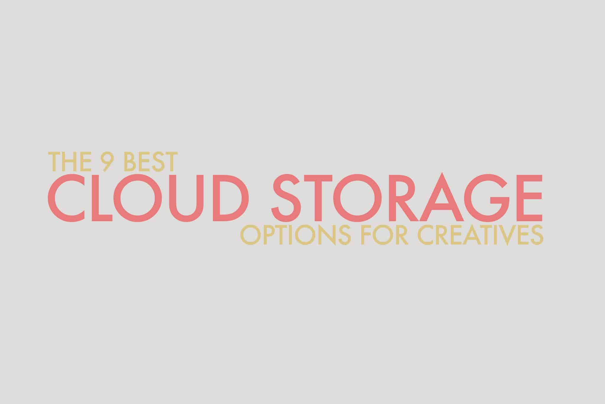 Best Cloud Storage For Photographers
