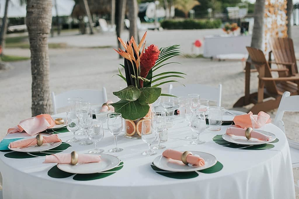 A Tropical And Emotional Key Largo Wedding