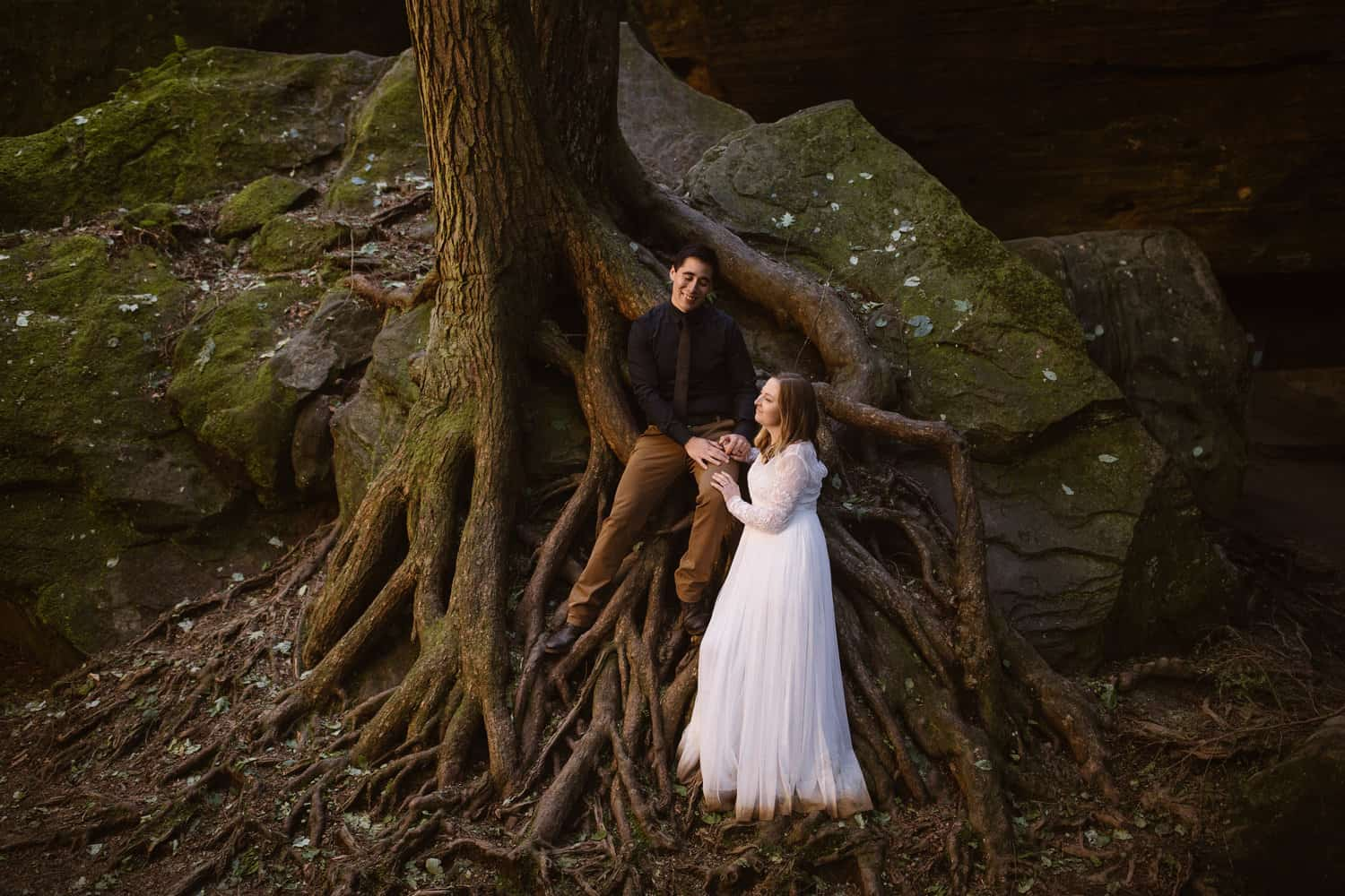 Hocking Hills Elopement