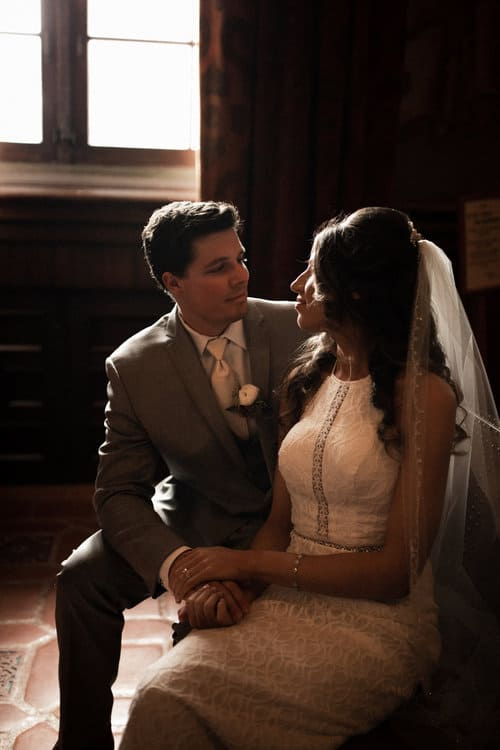 Beautiful Elopement At The Courthouse In Santa Barbara