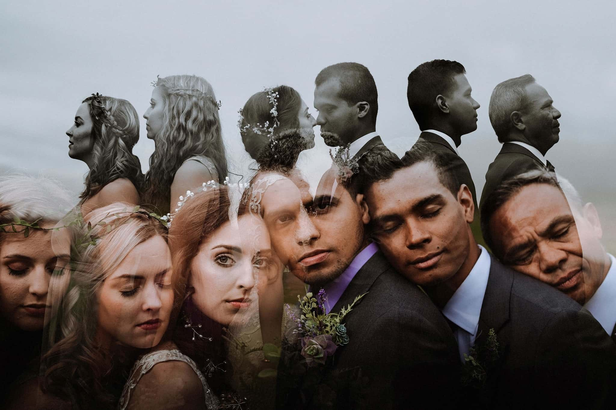 23 Creative Wedding Party Photos That Will Blow You Away