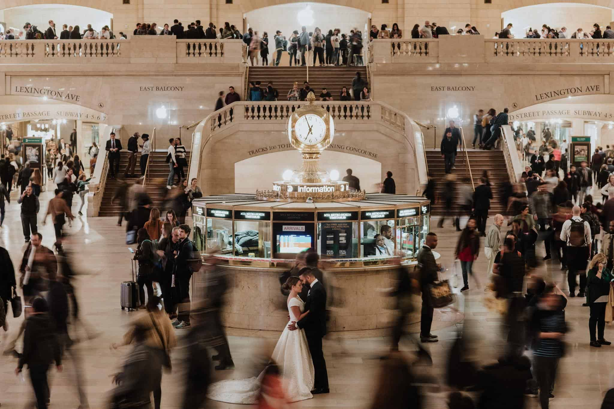 Grand Central station wedding image