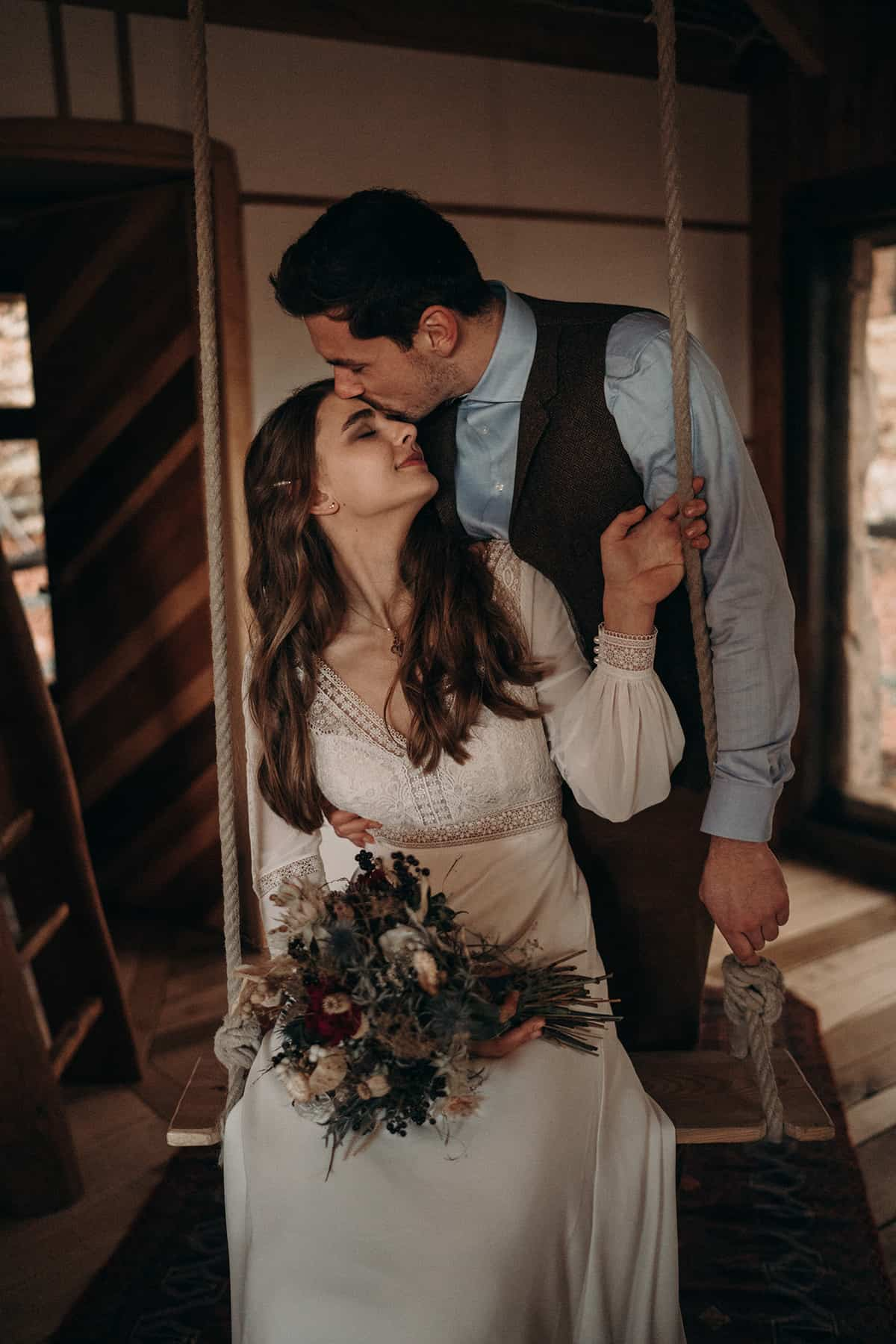 A Stunning And Intimate Elopement In The Woods