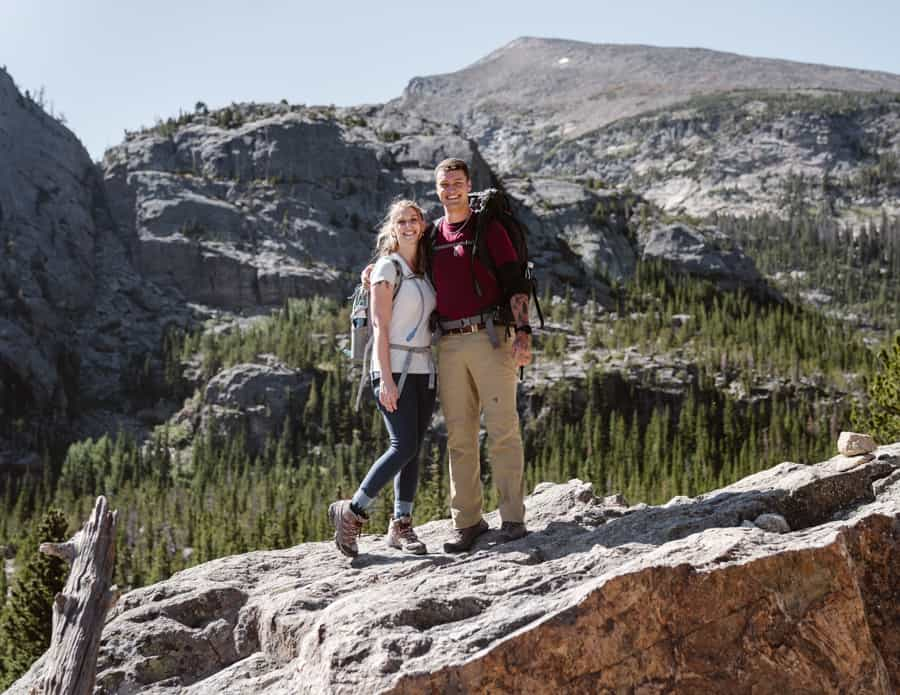 An Intimate Elopement At Lily Lake In Colorado