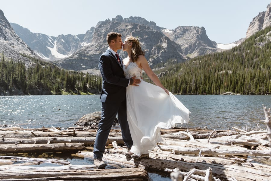 Lily Lake Wedding Colorado