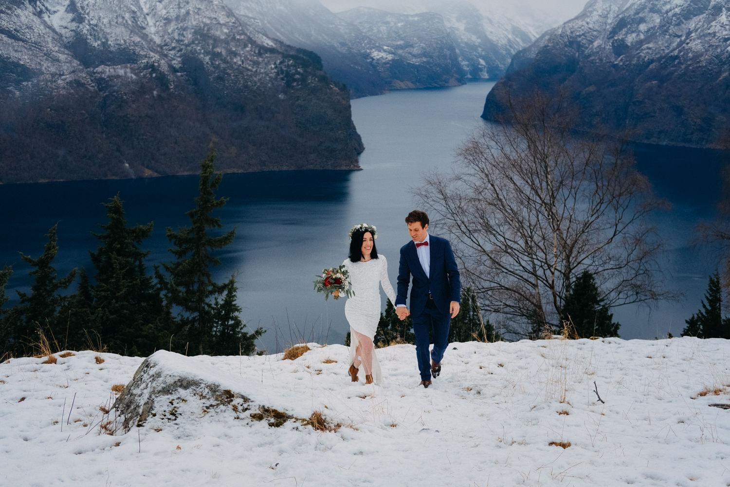 Magical Winter Elopement In Norway