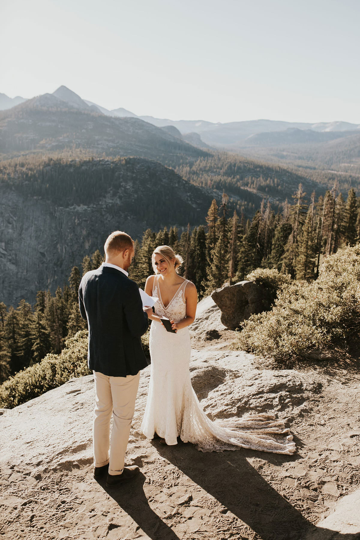 A Breathtaking Elopement In The Yosemite National Park