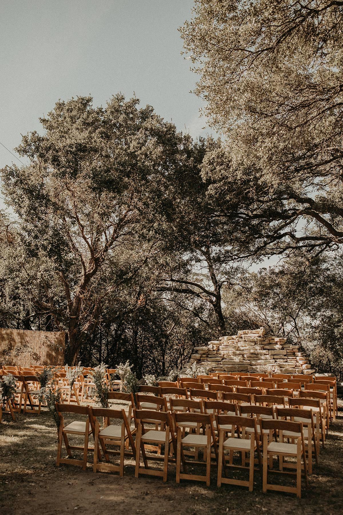 A Wonderful Outdoor Wedding In Texas