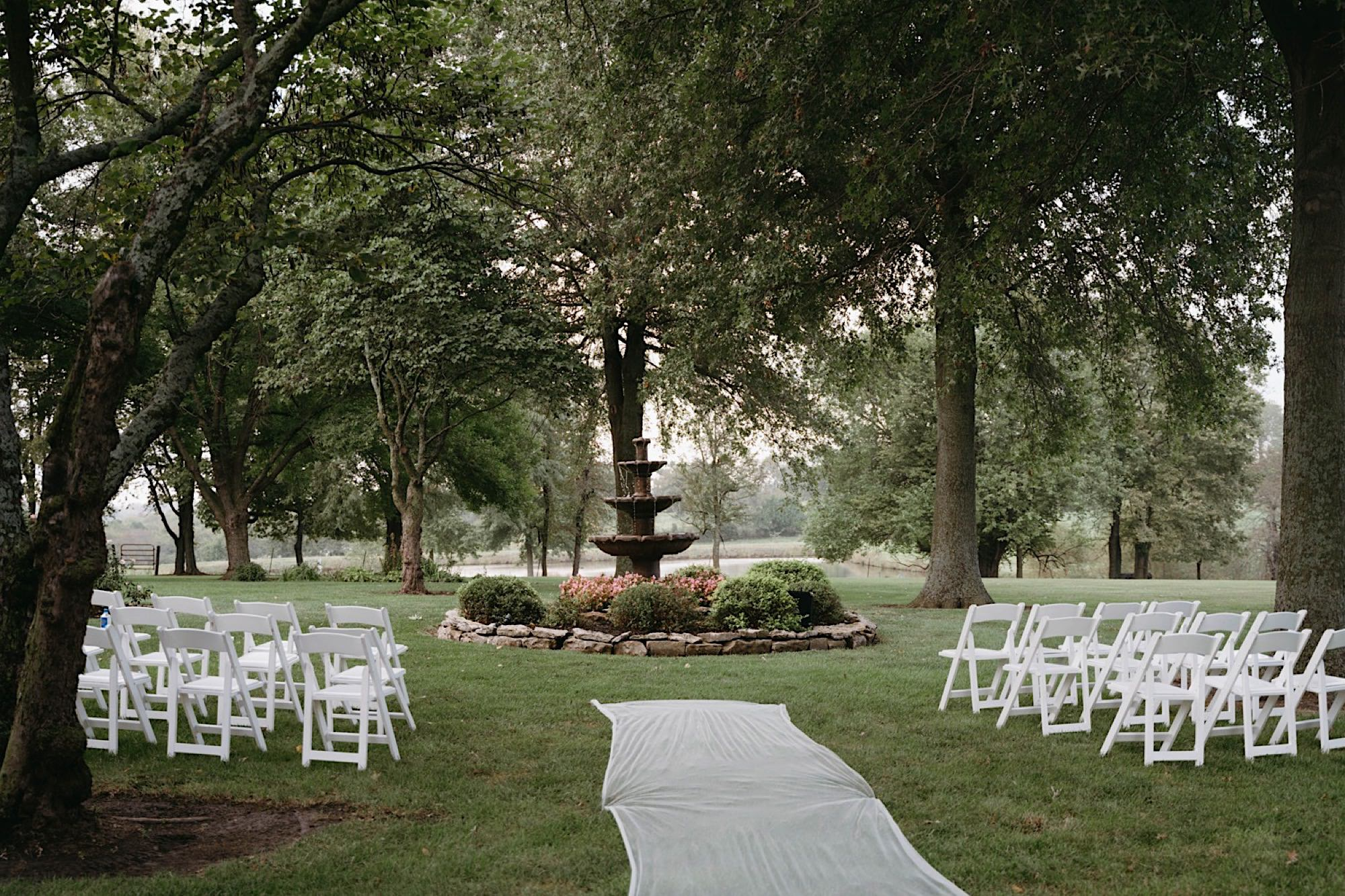 An Intimate And Stylish Backyard Wedding