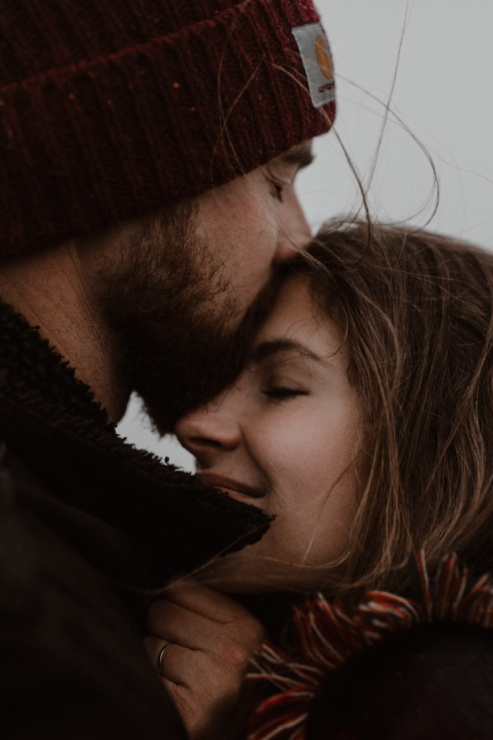 A Moody And Intimate Engagement Shoot In The Austrian Alps