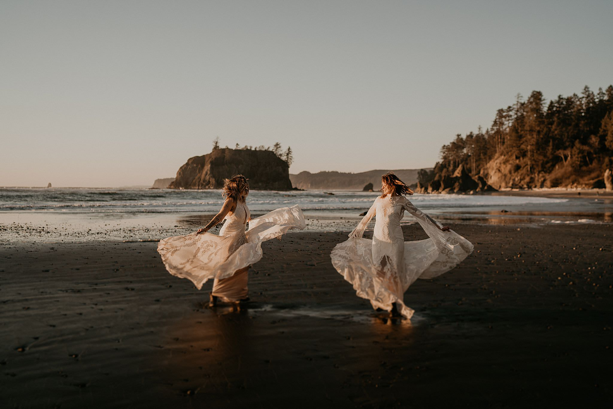 A Beautiful Vow Renewal At Ruby Beach