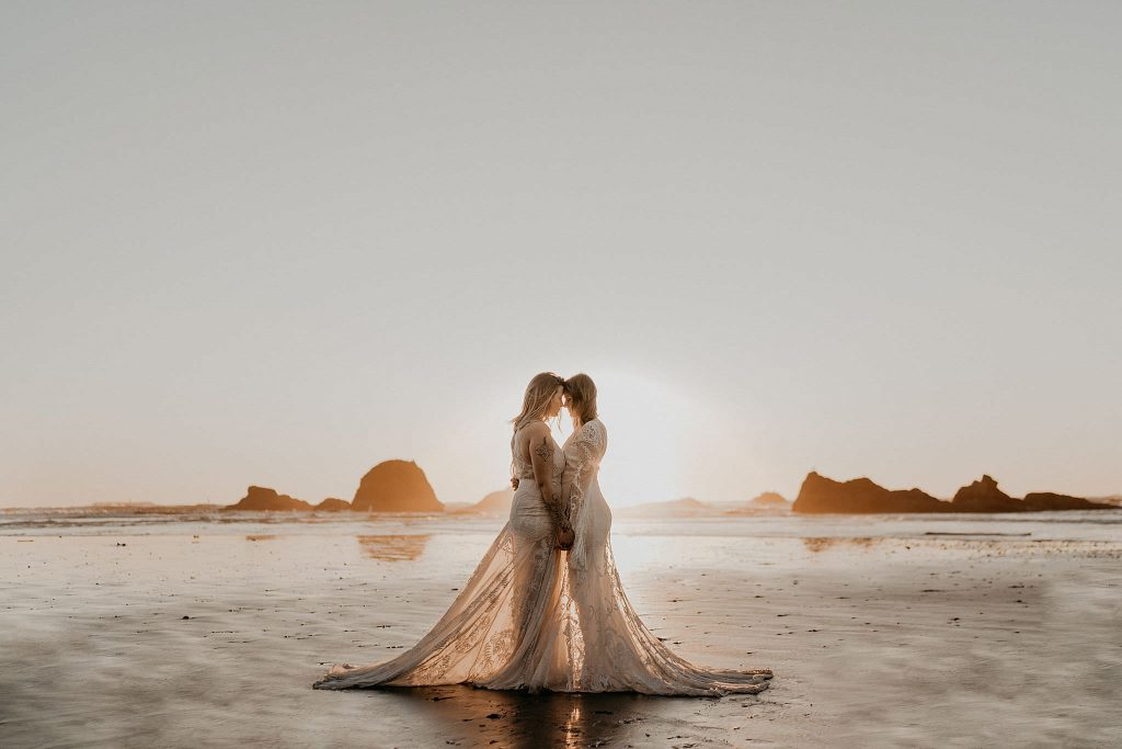 Ruby Beach Wedding