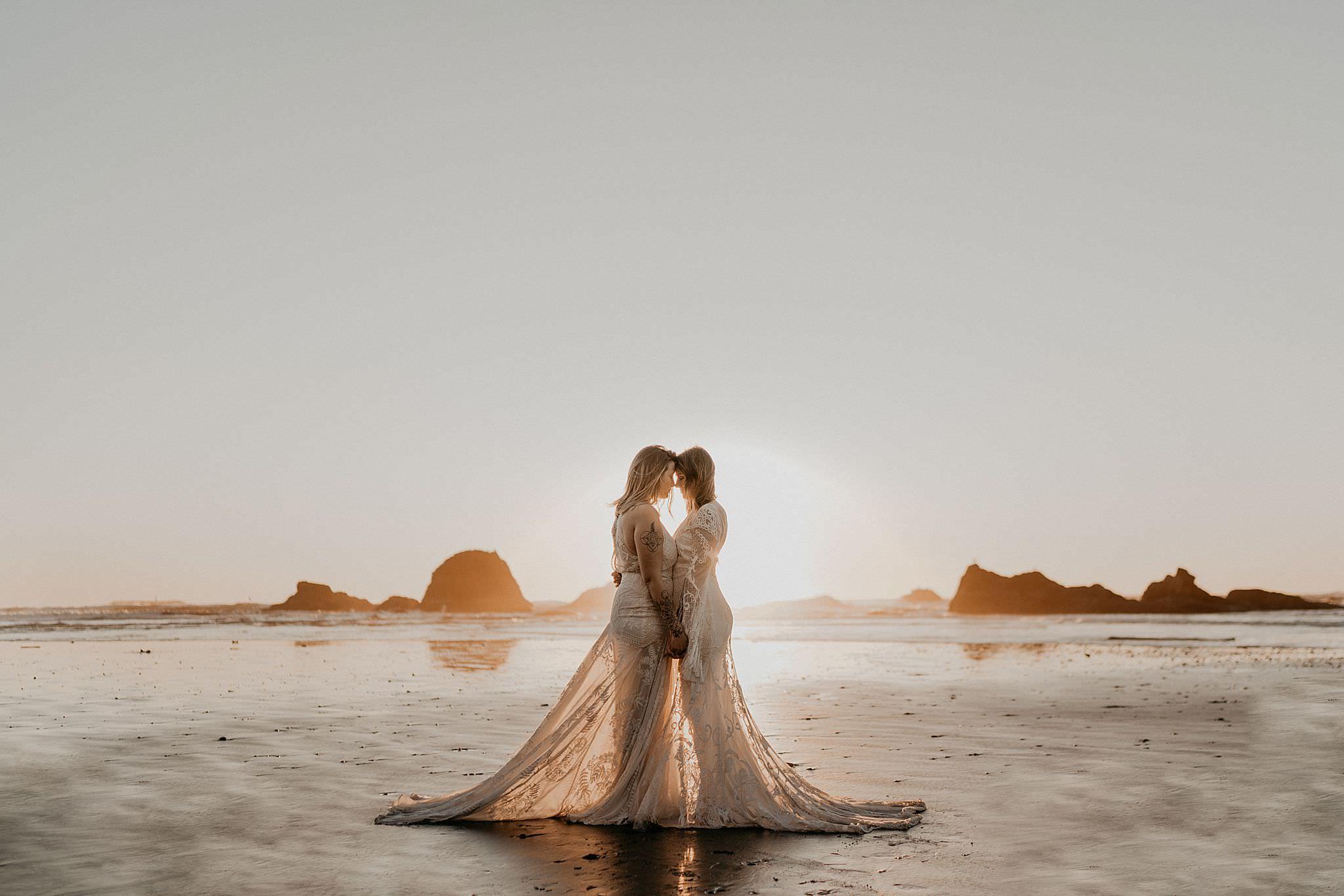 Ruby Beach Wedding