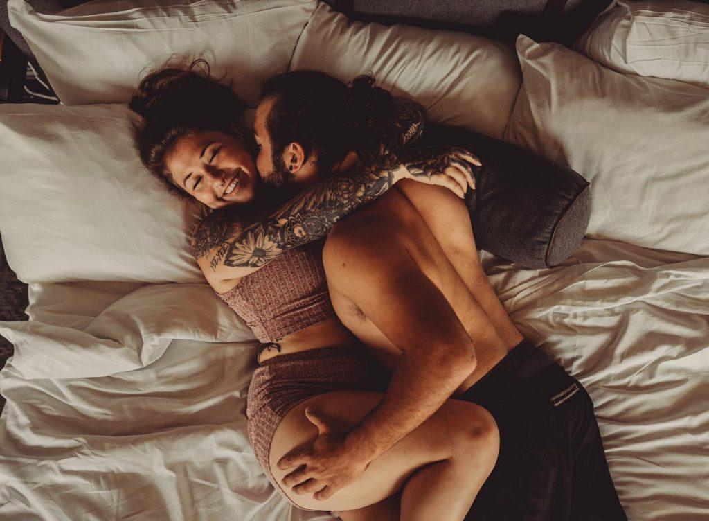 boudoir couple
