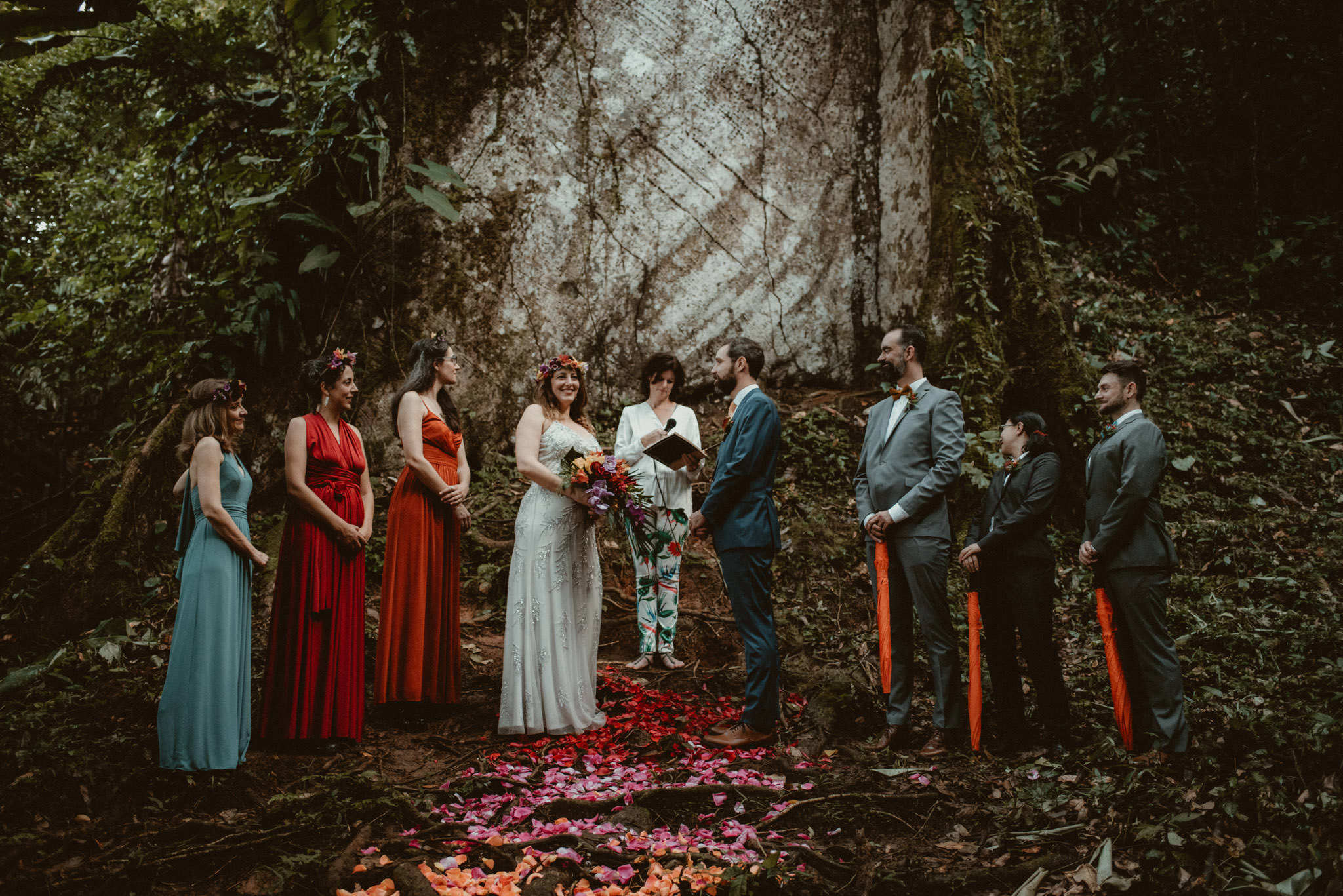 Getting Married In The Chachagua Rainforest