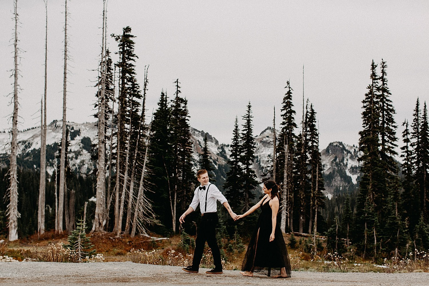 A Stunning Mt Rainier Engagement Session