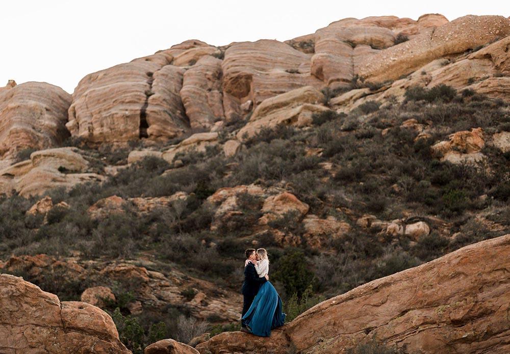 Elopement Package Vasquez Rocks