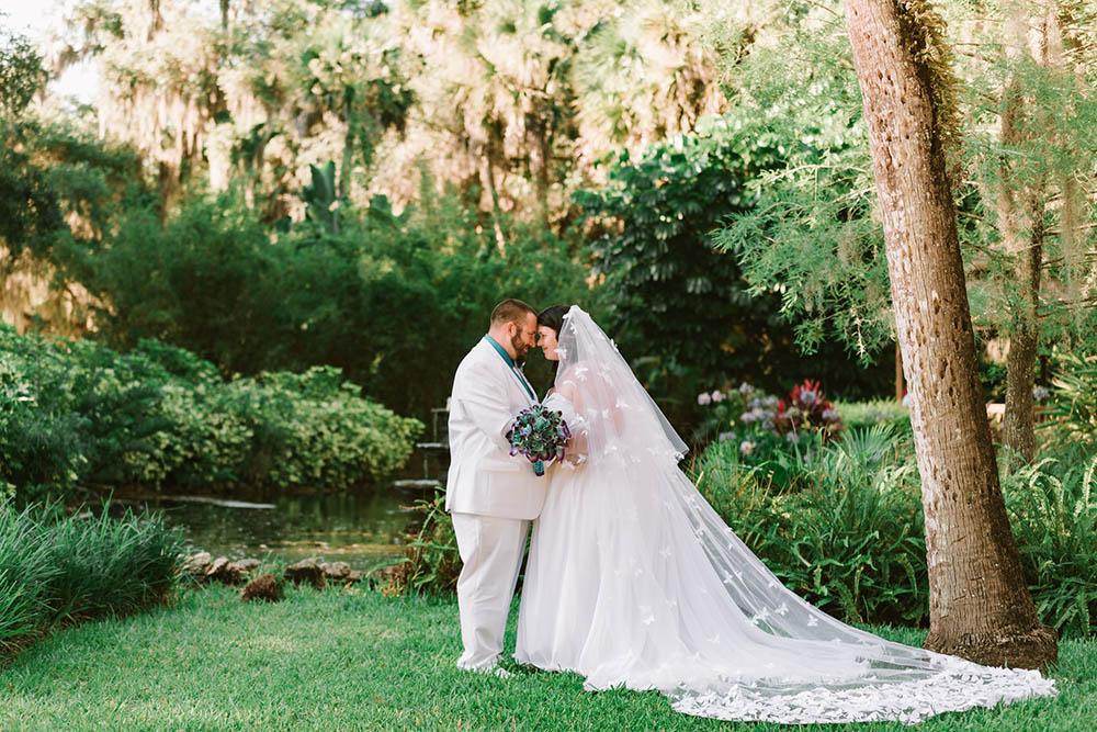 Wedding Couple At Washington State Park
