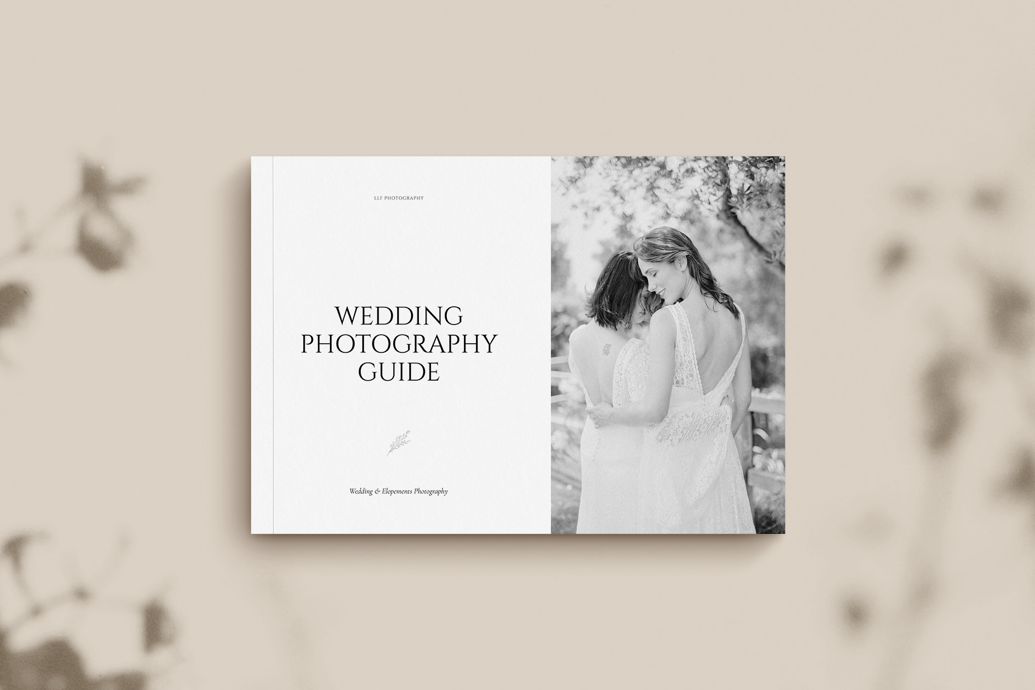 Classic Wedding Guide Cover