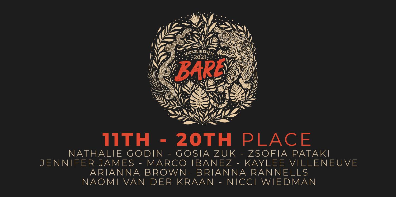 2021 LOOKSLIKEFILM BARE Awards: Meet The Winners