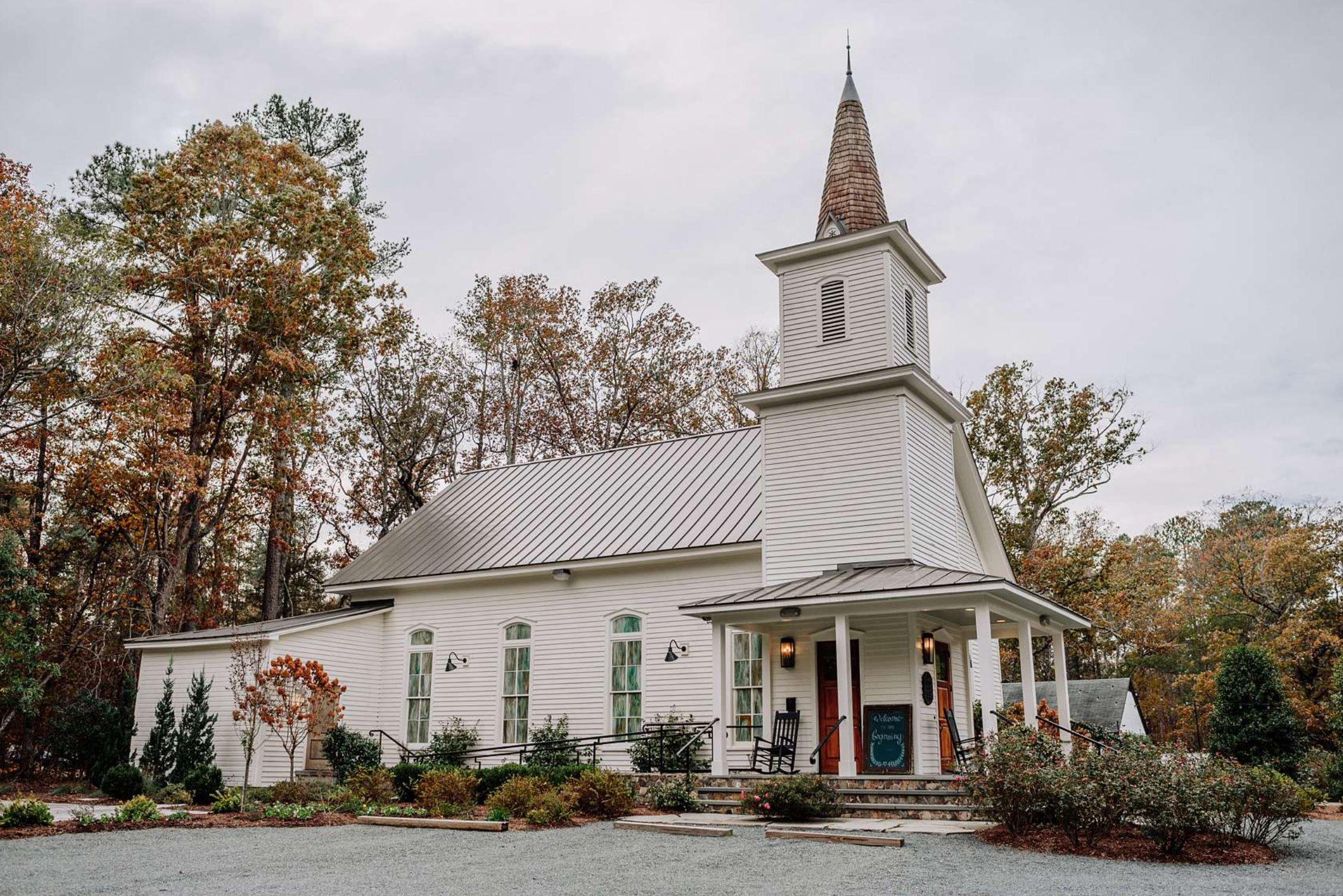 Chapel Hill, a wedding venue in North Carolina.
