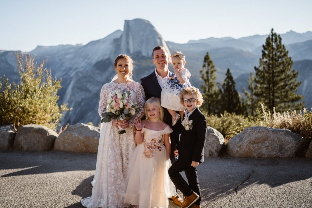 A Gorgeous Elopement At Yosemite National Park