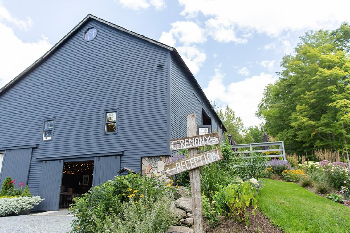 the Old Grey Barn is located in Dorset, Vermont.