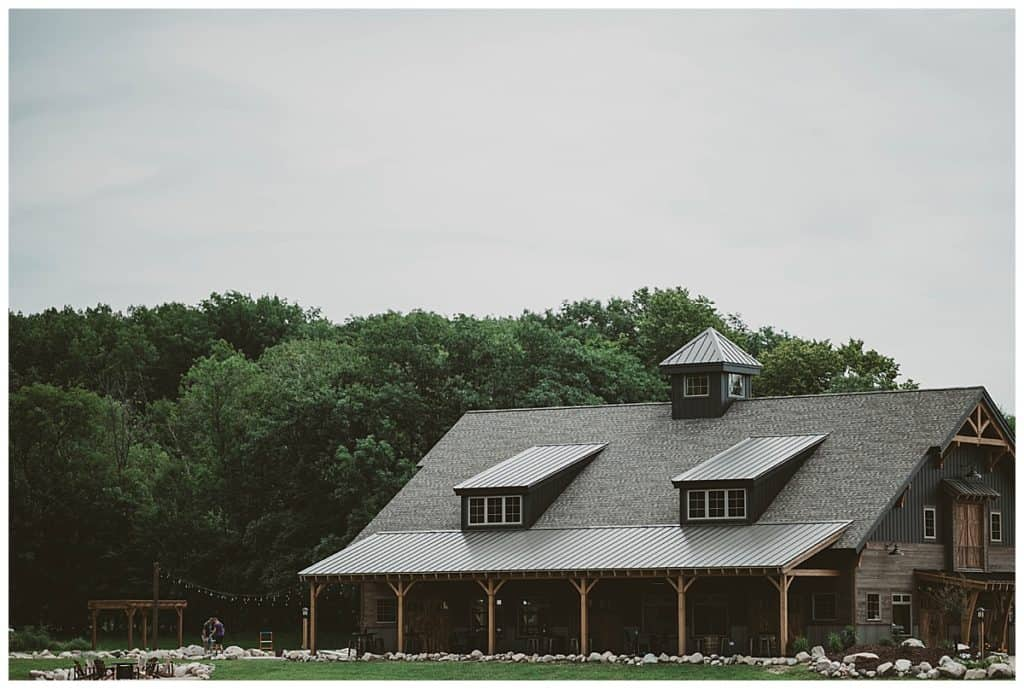 The Barn at Stones Hills, a wedding venue in Minnesota.