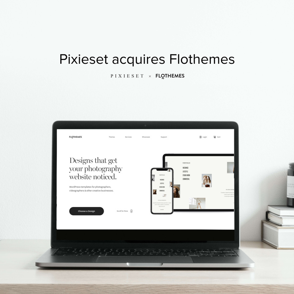 Flothemes joined the Pixieset Family